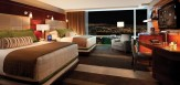 Aria deluxe room queen Las Vegas