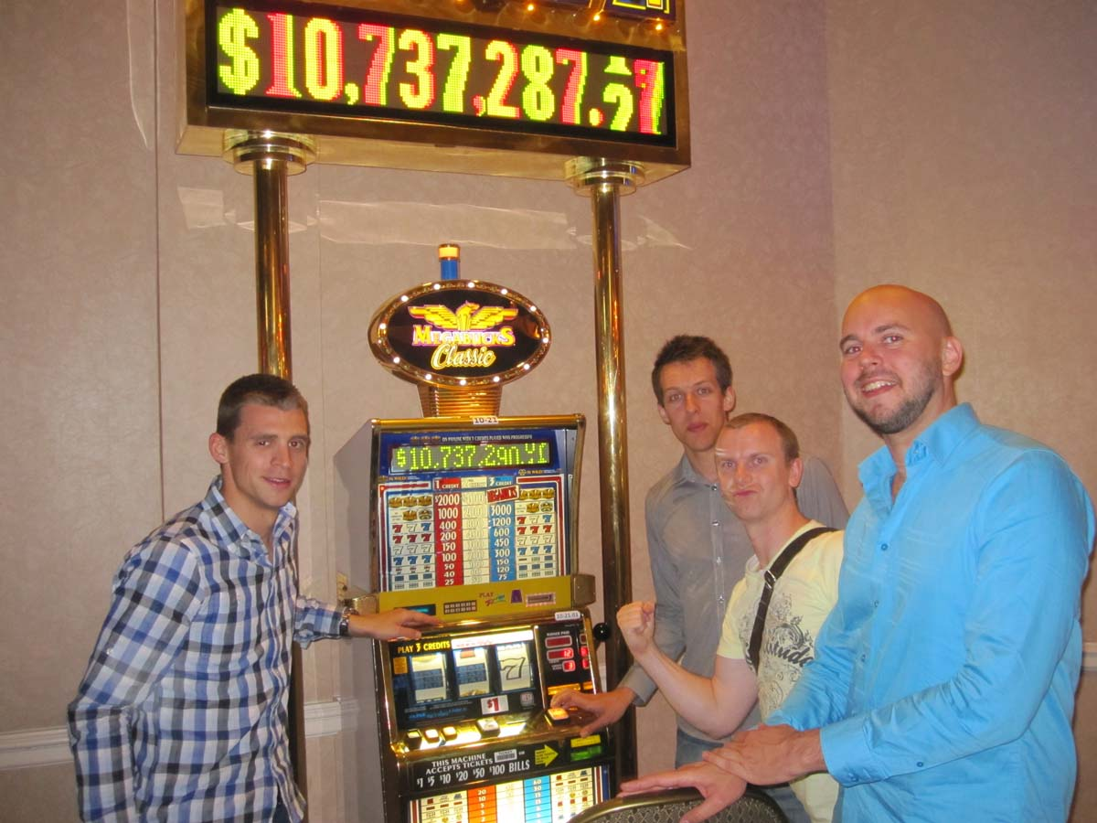 Largest slot machine jackpot in las vegas