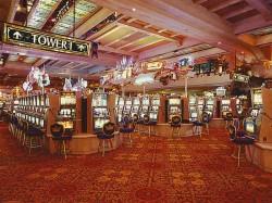 Slots Casino floor Las Vegas