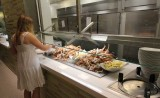 Aria Buffet crabfish Las Vegas