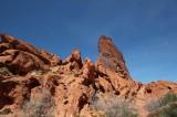 Valley of Fire climbing