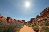 Valley of Fire sun